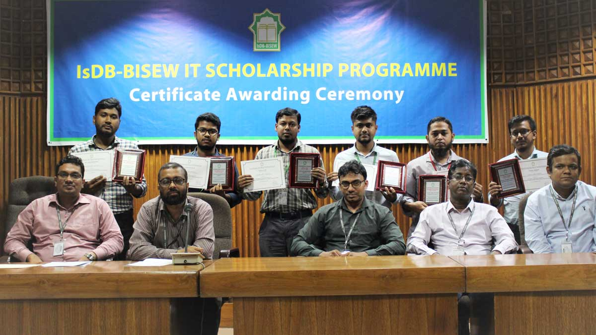 Certificate Distribution Ceremony (Round 35)