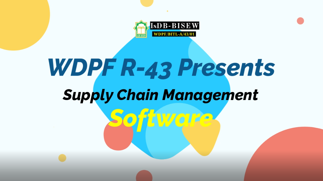 Class Project: Supply Chain Management Software by IsDB-BISEW IT Scholarship Graduate (Round-43, WDPF Course)
